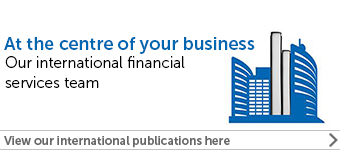 Finance internations publications banner