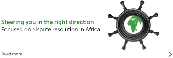 Steering you in the right direction: Focused on dispute resolution in Africa