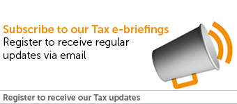 subscribe to our tax e-briefings